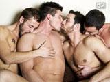 Partouze gay entre potes TBM