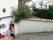 Français en plan sexe dans un quartier près…