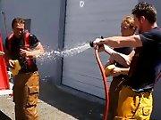 Partouze de pompiers homos qui reviennent…