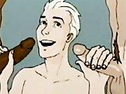 Cartoon sexuel d'un jeune qui accumule les…