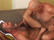 Jouissance de vieux gays qui vont bien…