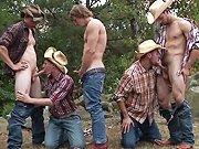 Partouze chez les cowboys