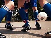 Plan à 3 entre potes du foot !