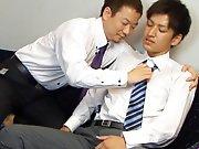 Patron Japonais baise un jeune employé !