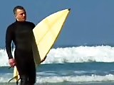Surfeurs gays s'enculent sans capote