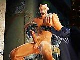 Batman sodomise le Joker et jouit en lui