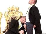 Vidange de burne entre mecs mariés