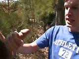 Il branle un mec en forêt et se fait enculer
