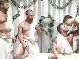 Phantasme d'une orgie chez les Grecs