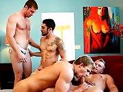 Une bande de bogosses pour une orgie