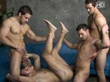 Seance d essai pour quatre acteurs pornos…