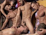 Partouze gay chez les Arabes