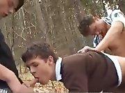 Minets pris en stop sodomisés dans les bois