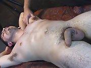 Hétéro poilu massé et branlé avec un…