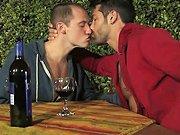 Un verre de vin une soirée romantique et un…
