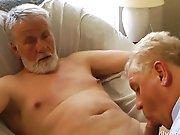 Des vieux gays se tapent un plan à 3 !