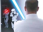 Baiser en trio avec un Jedi !