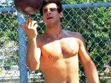 Basketteur hétéro éjacule sur son ballon
