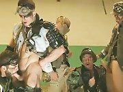 Partouze entre militaires violents !
