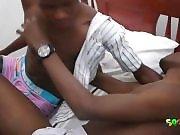 2 petits Blacks font l'amour !