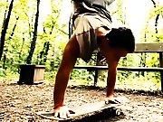 Baiser avec un skateur c'est du sport !