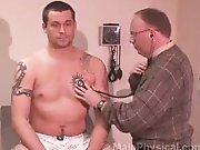 Examen médical complet d'un hétéro…