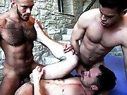 Baise ultime sans capote avec des mecs virils…