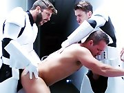 Jedi baisé en tournante reçoit du sperme…