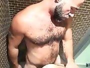 S'enculer sous la douche entre mecs très…
