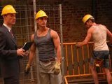 Ouvrier gay baise à fond au boulot