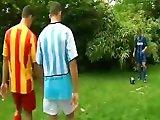Décharge sexuelle entre footballeurs